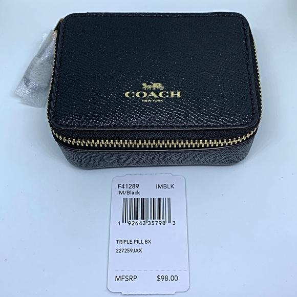 Coach Handbags - Coach triple pill box